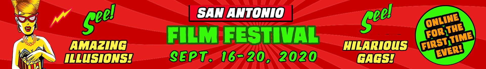 26th San Antonio Film Festival Sept 16-20