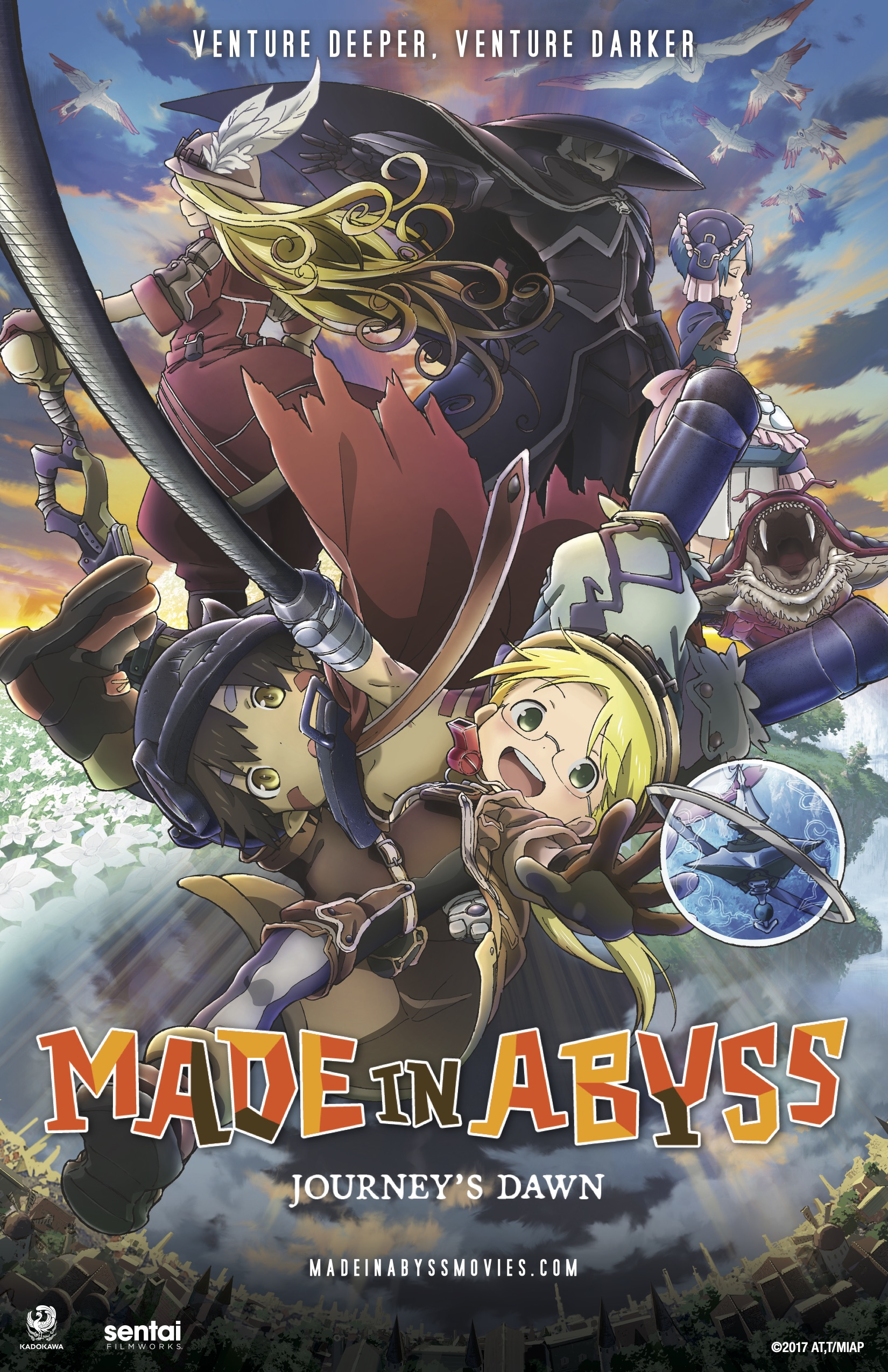 Made in abyss dawn of the deep soul